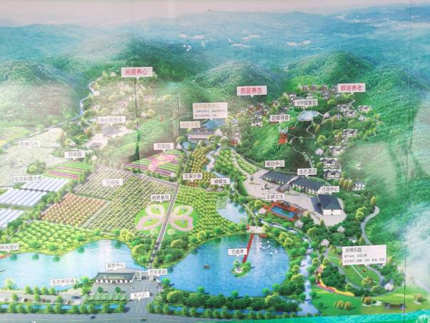 百香谷农旅医康养产业园区规划图.